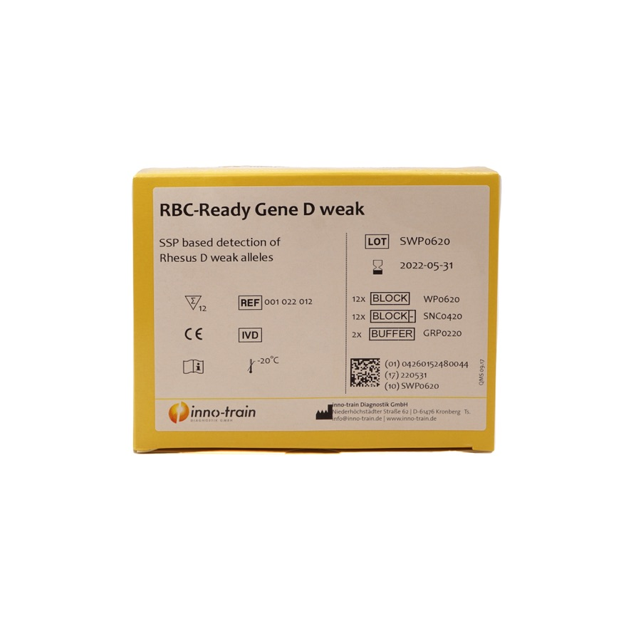 RBC-Ready Gene D weak